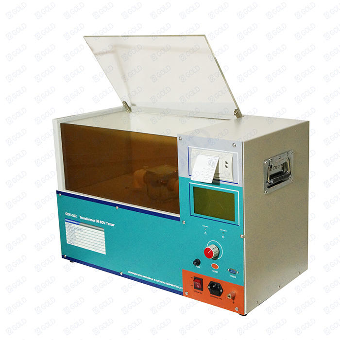 GDYJ-502 Mainit na Pagbebenta 100kV Insulating Oil Dielectric Strength Tester